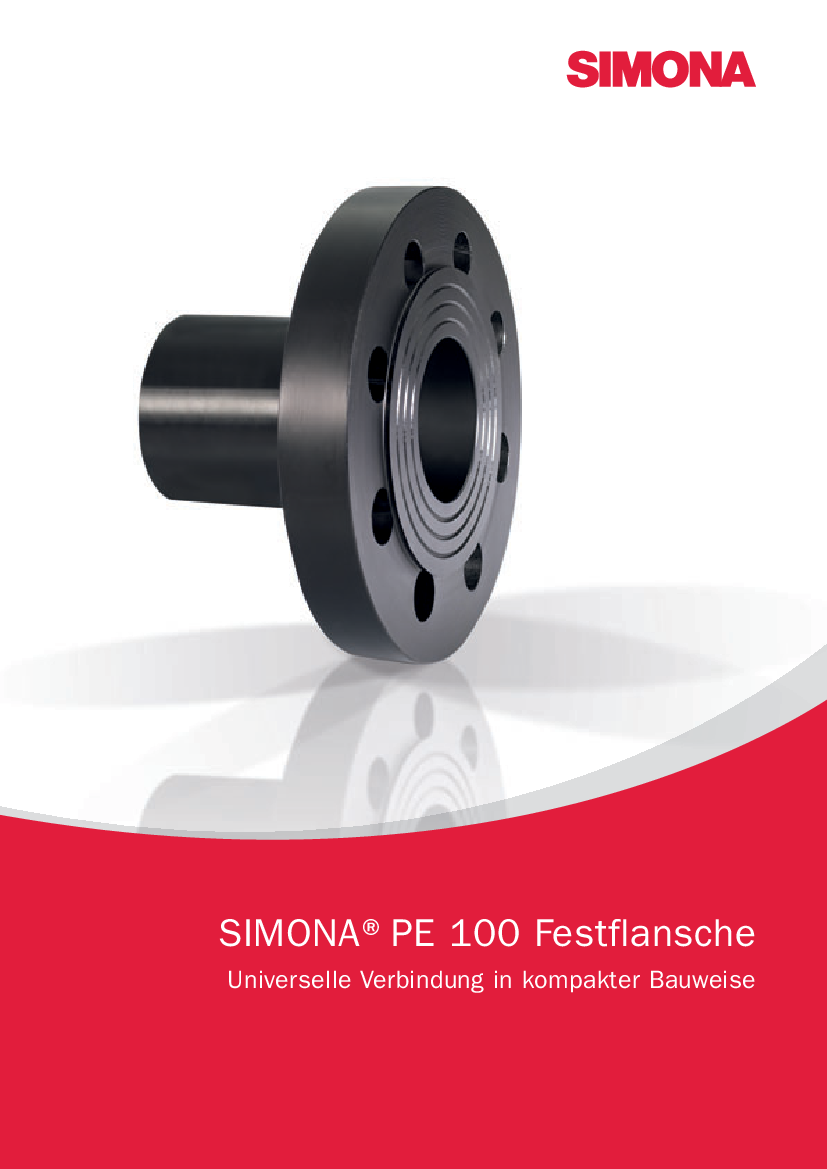 Downloadcenter Simona Ag Pipes For Electrical Wiring Metal Pvc And Pe Compare Evaluate 100 Full Face Flanges Universal Connection Compact Design Brochures
